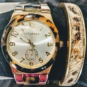 Silpada Cheetah bracelet only.